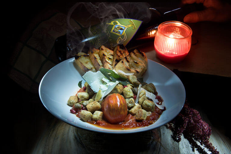 Parisian Style House Made Gnocchi with Manchego Cheese