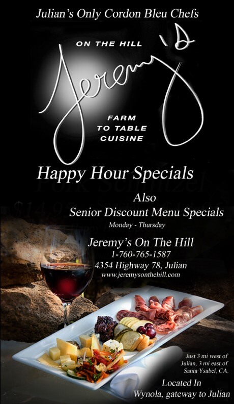 Happy Hour At Jeremys On The Hill Jeremys On The Hill - The table happy hour